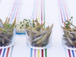 Ausgebackene kleine Fische (Stint) Rezept