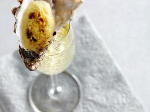 Austern gratiniert Rezept