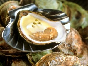 Austern mit Sabayon Rezept