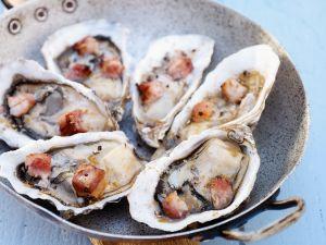 Austern mit Speck Rezept