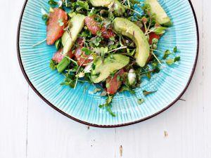 Avocado-Grapefruit-Salat mit Quinoa Rezept