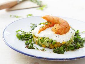 Avocado-Mangosalat mit Shrimps Rezept