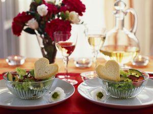 Avocadosalat zum Valentinstag Rezept