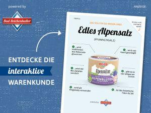 Edles Alpensalz (Pfannensalz)
