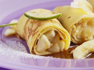 Bananen-Crêpes Rezept