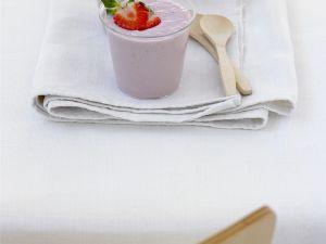 Bananen-Erdbeer-Soja-Smoothie Rezept