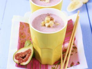 Bananen-Feigen-Smoothie Rezept
