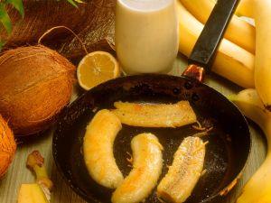 Bananen in Honig-Butter Rezept