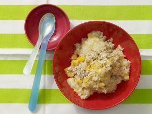 Bananen-Mandel-Brei mit Bulgur Rezept