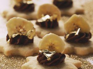 Bananen-Schoko-Sterne Rezept