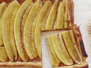 Bananenkuchen mit Blätterteig Rezept