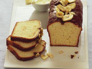 Bananenkuchen mit Schokoguss Rezept