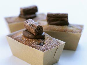 Bananenkuchen mit Schokolade Rezept