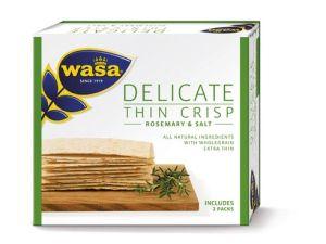 Wunderbar knusprig: Wasa Delicate Thin Crisp