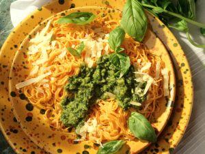 Bavette mit Basilikum-Pesto Rezept