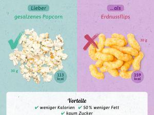 Gesunde Alternativen: Snacks