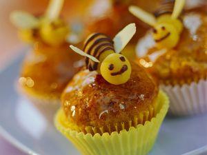 Bienchen-Muffins mit Banane Rezept