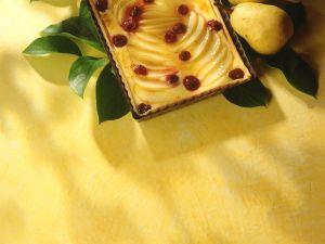 Birnen-Himbeer-Kuchen Rezept