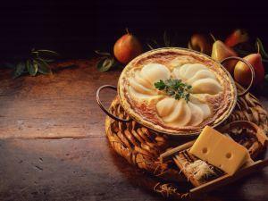 Birnen-Käse-Wähe Rezept