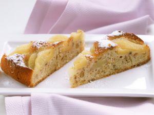 Birnen-Nusskuchen Rezept