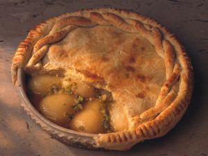 Birnen-Pistazien-Pie Rezept