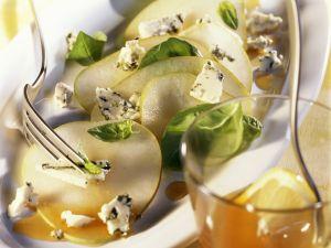 Birnen-Roquefort-Carpaccio Rezept