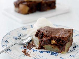 Birnen-Schoko-Kuchen mit Nüssen Rezept