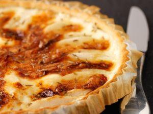 Birnenkuchen mit Käse Rezept