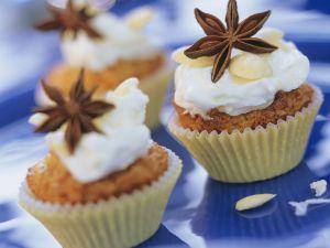 Birnenmuffins mit Anis und Sternanis Rezept