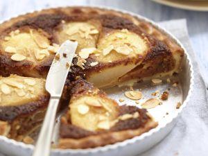 Birnentarte mit Lebkuchen Rezept