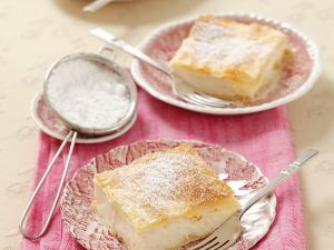 Blätterteig-Creme-Kuchen Rezept