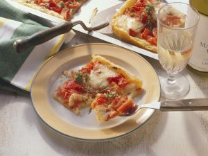 Blätterteig-Tomatenpizza Rezept