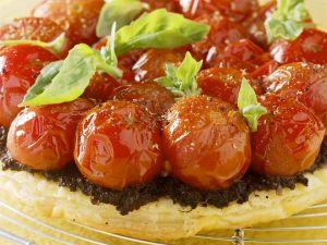 Blätterteig-Tomatentarte Rezept