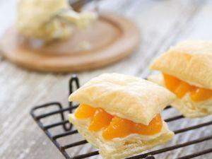 Blätterteigsandwich mit Mandarinen Rezept