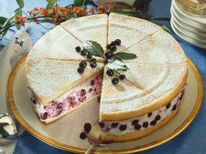 Biskuit torte fullen