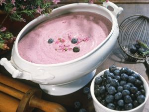 Blaubeer-Joghurtcreme Rezept