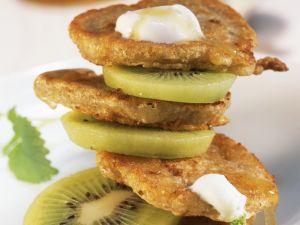 Blinis mit Kiwi Rezept