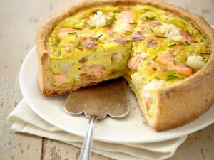 Blumenkohl-Lachs-Torte Rezept