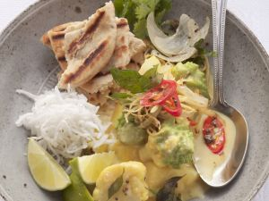 Blumenkohl-Romanesco-Curry mit Kartoffeln Rezept