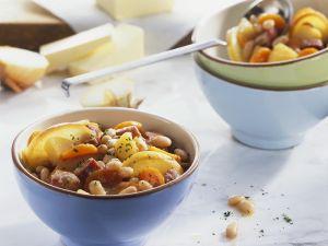 Bohnen-Fleischeintopf Rezept