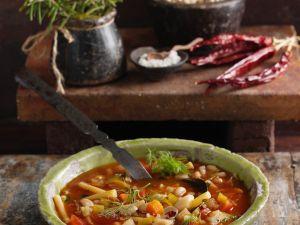Bohnen-Gemüseeintopf Rezept