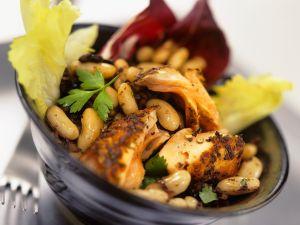 Bohnen-Lachs-Salat Rezept