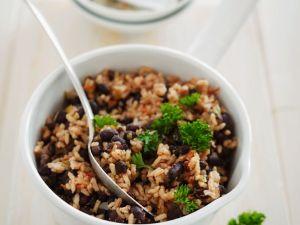 Bohnen-Reis Rezept