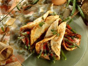 Bohnen-Tomaten-Omeletts Rezept