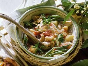 Bohneneintopf mit Hähnchen Rezept