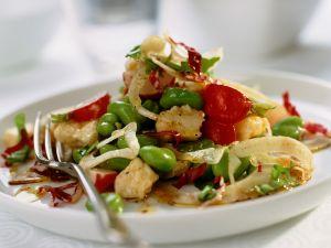 Bohnensalat mit Feta Rezept