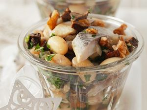 Bohnensalat mit Matjes Rezept
