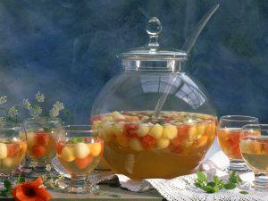 Bowle mit Melone Rezept