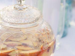 Bowle mit Pfirsich Rezept