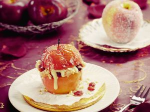 Bratapfel mit Marzipanfüllung Rezept